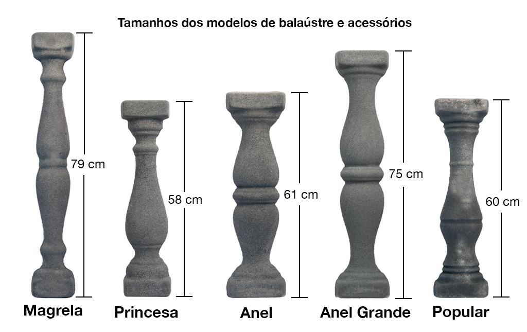 Desenho Técnico Balaústre 1